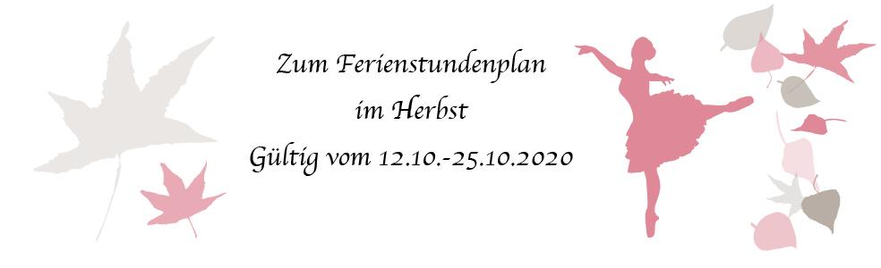 link zum Stundenplan Herbstferien 2020